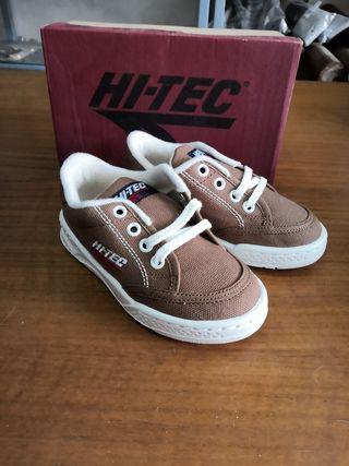 zapatillas niño HI-TEC talla 28