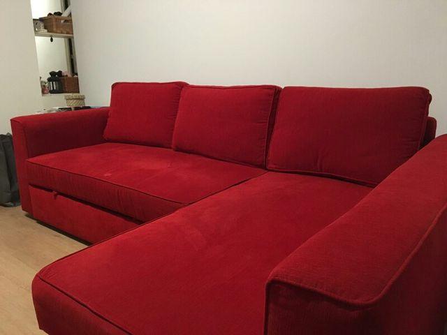 Sofa cama doble con arcon de segunda mano por 225 en madrid en wallapop - Sofa cama en madrid ...