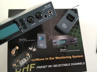 IN-EARS MONITORING SYSTEM / DIRECTOS / ARTISTAS