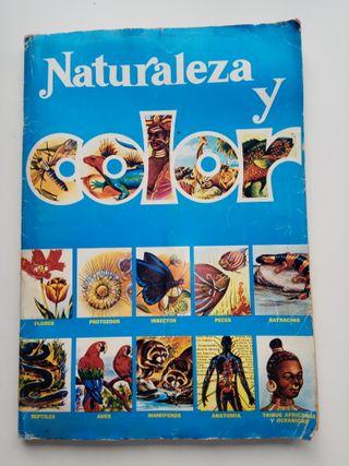Album de cromos Naturaleza y Color
