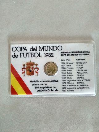 Medalla conmemorativa Mundial España 82