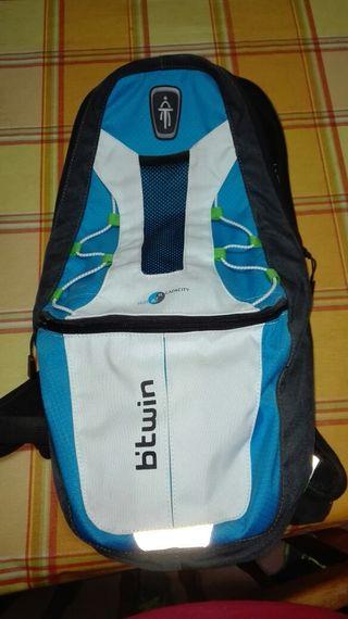 mochila para bolsa de agua