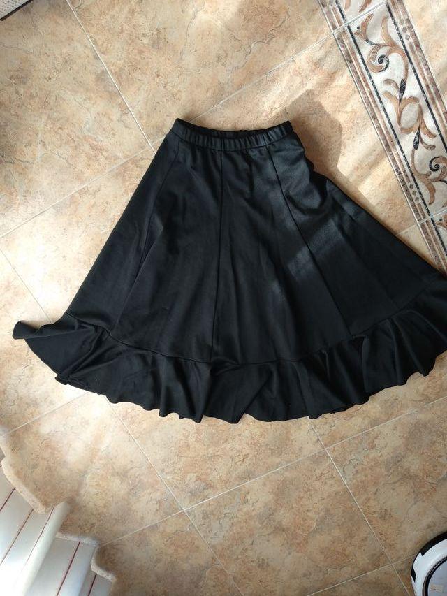nuevo producto a7fe2 d6412 Falda flamenco niña talla 10. de segunda mano por 17 € en ...
