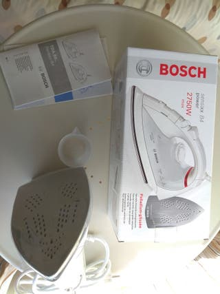 plancha vapor Bosch sensixx b4. Nueva