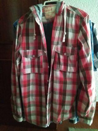 tres camisas chico