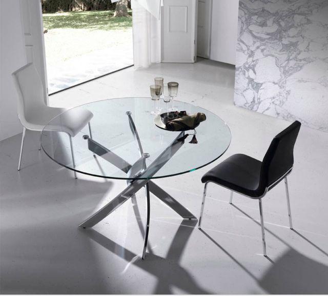 Mesa comedor vidrio y 4 sillas de segunda mano por 190 € en Granada ...