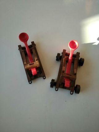 playmobil catapulta