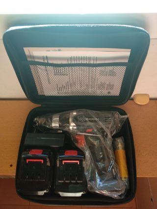 Taladro/destornillador 2 baterias 21v NUEVO
