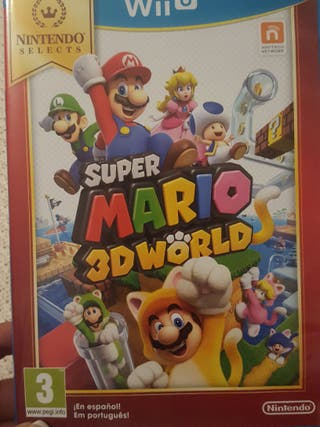 super mario es World de la Wii U