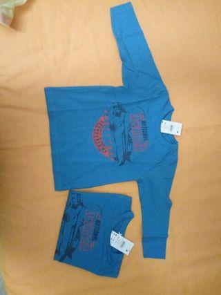 Camisetas Nikis manga larga