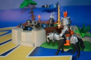 Lote Playmobil- Playmobil - SuperSet bastión 4014