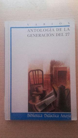 Antología de la generación de 27