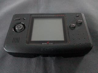 lote consola neo geo pocket color anthracite