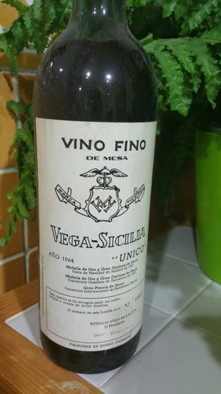 Vino Vega Sicilia Único
