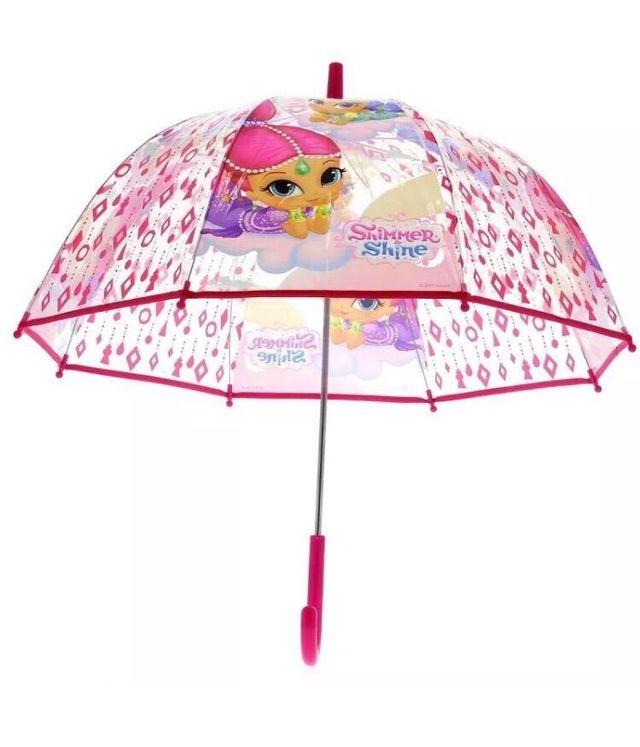 elige lo último venta al por mayor comprar popular Paraguas transparente Shimmer and Shine cúpula de segunda ...