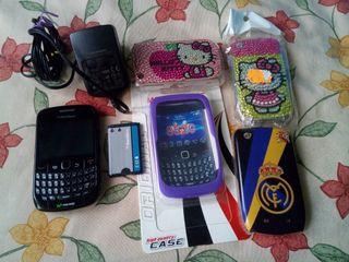Blackberry curve 8520 + accesorios