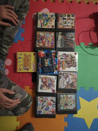 Lote NEO GEO Pocket Color + Juegos