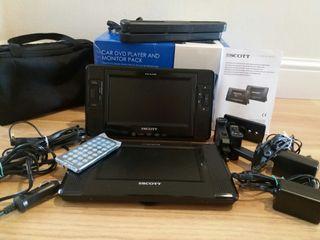Reproductor de DVD para vehículo + monitor