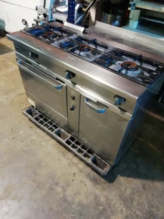 cocina gas hostelería bar horno