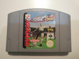 Juego N64 - International Superstar Soccer 64