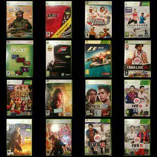 Juegos XBOX - Lote de 16 Juegos