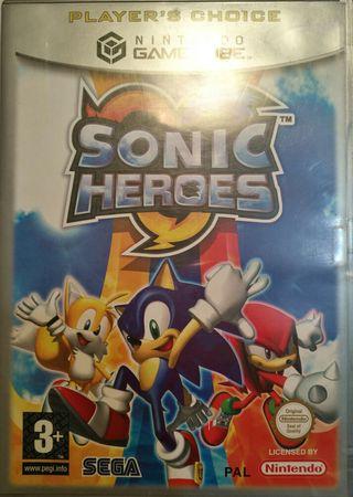 Juego GameCube - Sonic Heroes