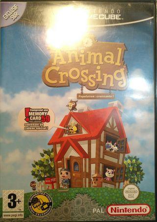 Juego GameCube - Animal Crossing