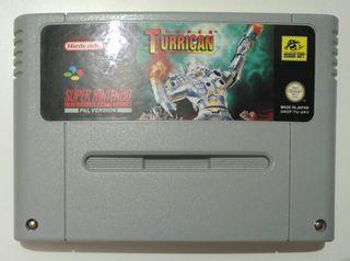 Juego SNES - Super Turrican