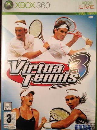 Juego XBOX - Virtua Tennis 3