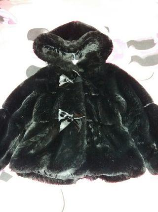 Abrigo de mouton talla 3-4 años