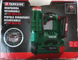 PARKSIDE Grapadora recargable ///PAT 20-Li A1