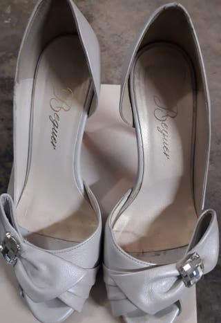 zapatos de novia de segunda mano en valencia en wallapop
