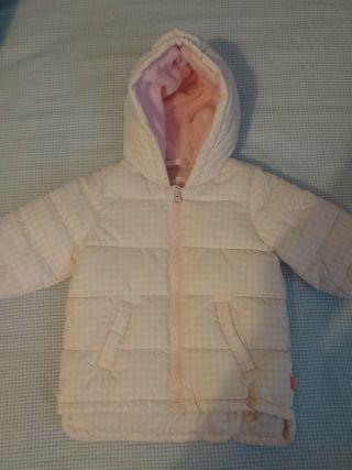 BENETTON.Preciosísimo abrigo 3/6 meses bebé