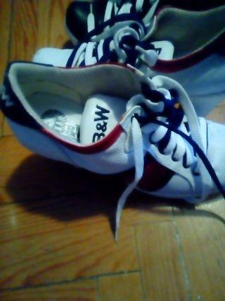 zapatos de cordón con tacon seminuevos
