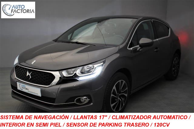 DS DS4 1.6 HDI 120CV SO CHIC GPS