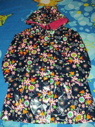 Abrigo para la lluvia tuc tuc talla 3-4 años