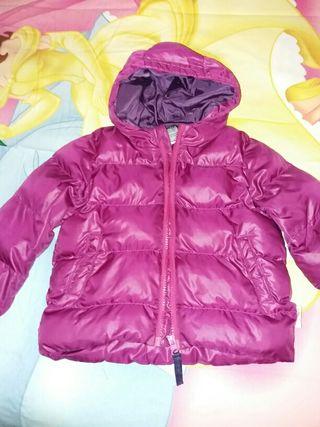 Abrigo quechua talla 2 años