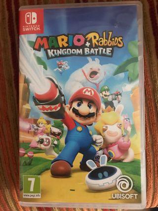 MARIO RABBIDS + KINGDOM BATTLE