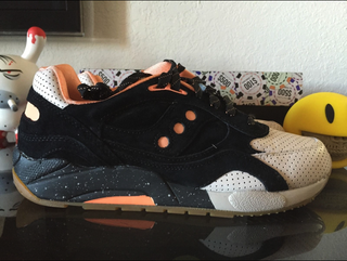 Saucony Feature x Saucony G9 Shadow High Roller