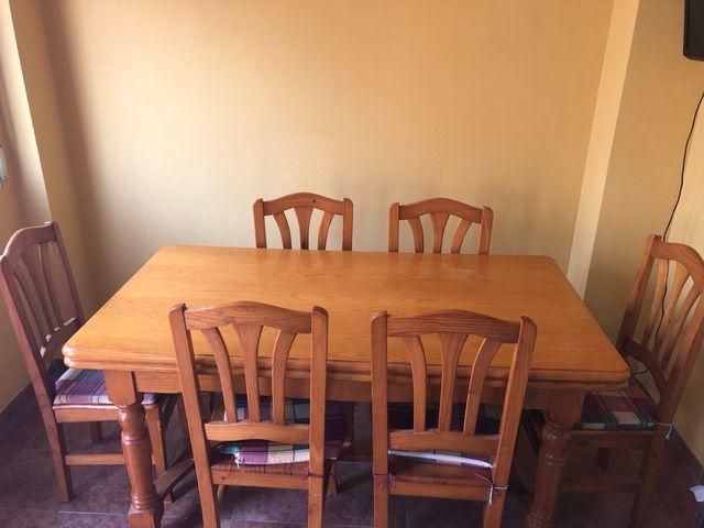 Conjunto Mesa y sillas cocina de segunda mano por 169 € en ...