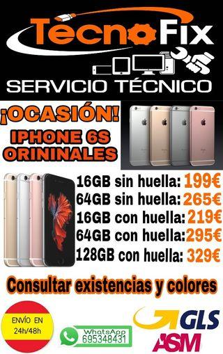 OCASIÓN IPHONE 6S PERFECTAS CONDICIONES LIBRES