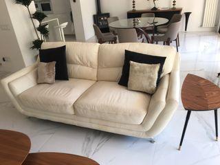 2 Italian designed sofas