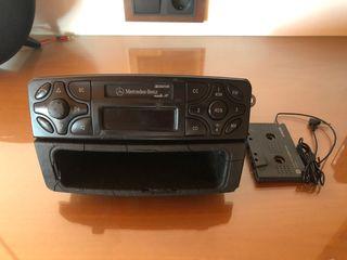 Radio Mercedes Clase C w203 cajon casete auxiliar