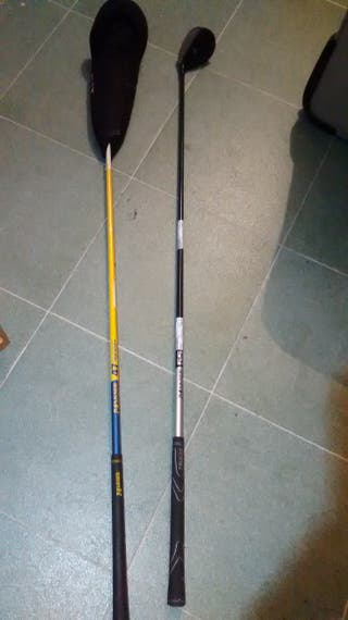 2 palos golf madera 3 y 5