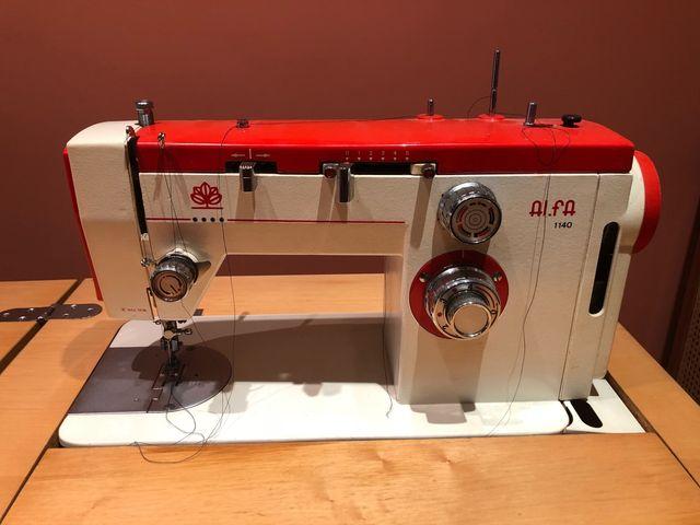 Maquina de Coser Alfa modelo 1140 OFERTA de segunda mano