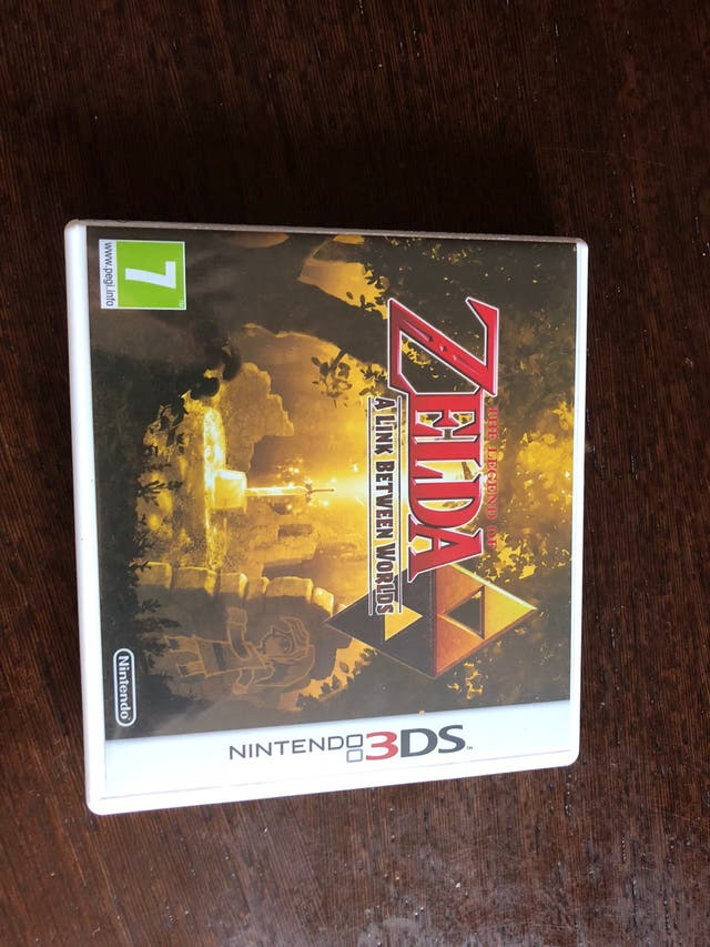 Juego Nintendo 3ds Zelda Between World De Segunda Mano Por 20 En
