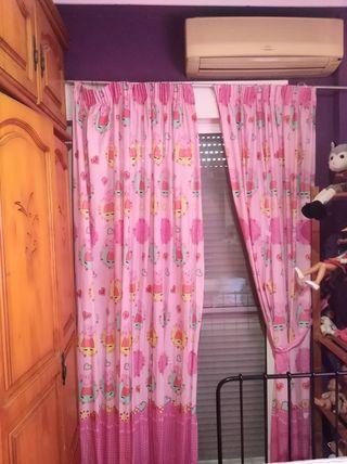 juego de cortinas