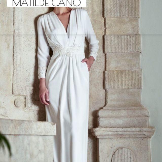 vestido de novia matilde cano de segunda mano por 350 € en córdoba