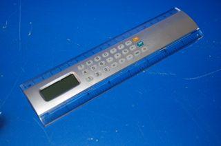 calculadora de diseño Regla con calculadora 20 CM