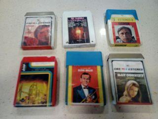 lote de cassette de cartucho 8 pistas